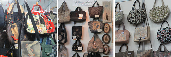 Handbags For Sale at Tokyo International Great Quilt Festival 2014