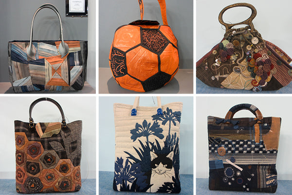 Bag Competition at Tokyo International Great Quilt Festival 2014