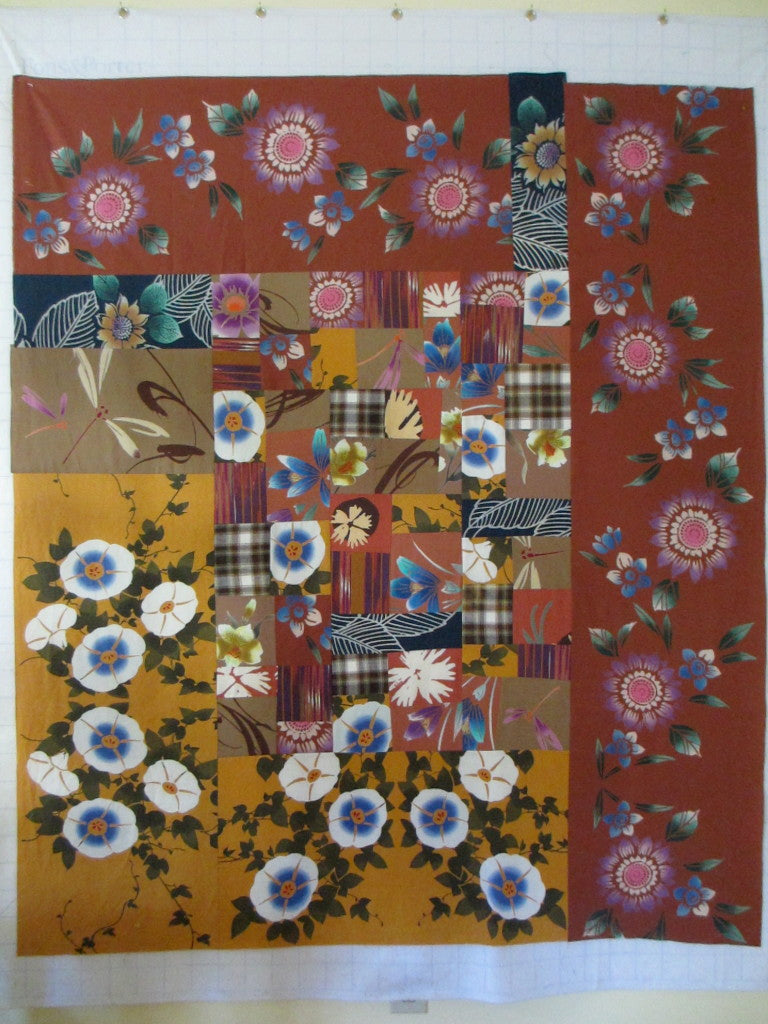 Design process for Cindy Brook's quilt by Patricia Belyea