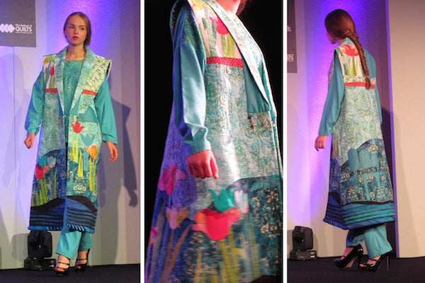 Janet Foster Ensemble at The Festival of Quilts Fashion Show