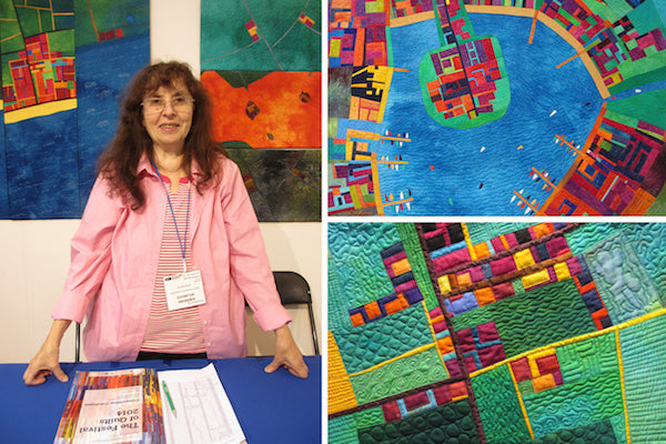 Mapping the Imagination, quilts by Alicia Merrett