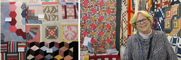 Mary Koval at Tokyo International Great Quilt Festival