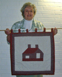 Priscilla's Mom with Little House Wall Hanging