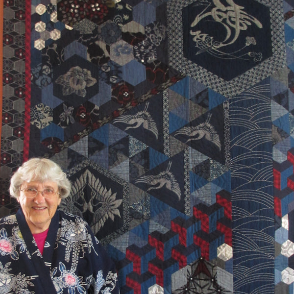 Flight, a quilt by Kitty Pippen