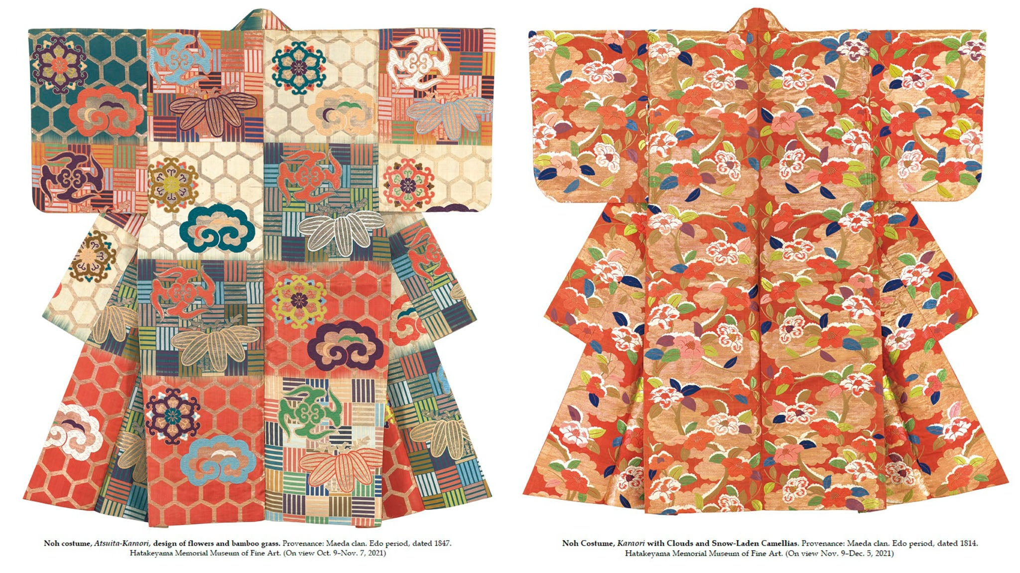Kimono from the Hatakeyama Collection at Kyoto National Museum