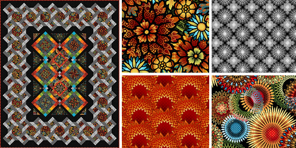 Paradise Quilt and fabric collection by Jason Yenter