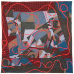 Porcupine Mountain Reconstructed quilt by Joe Cunningham