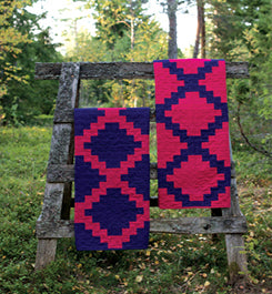 Central Parkway quilts by Heather Jones