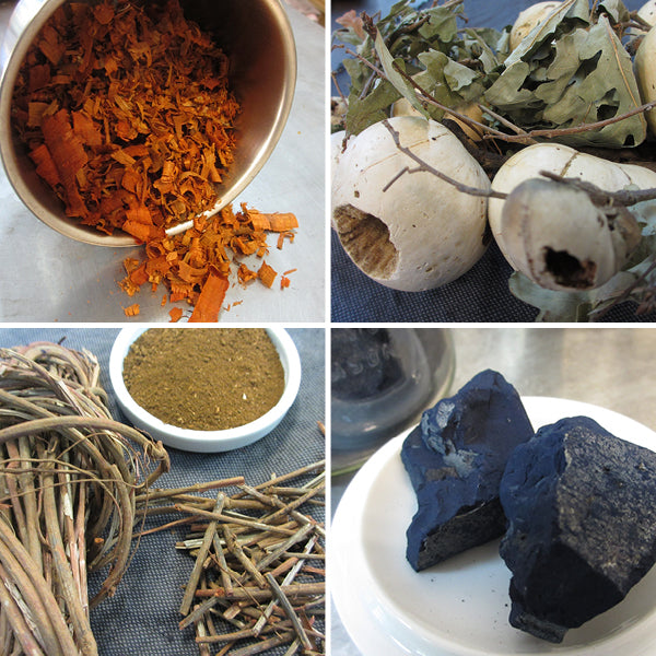 Botanical Materials for Natural Dyeing