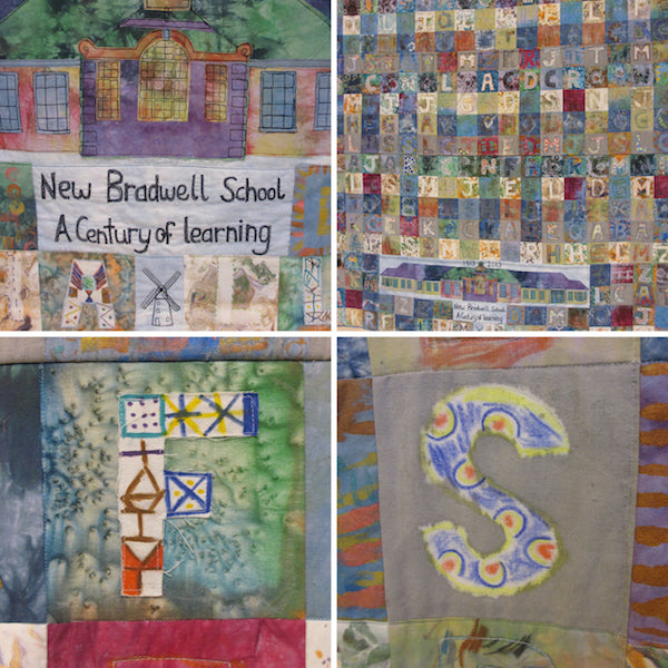 Group Quilt by New Bradwell School Students