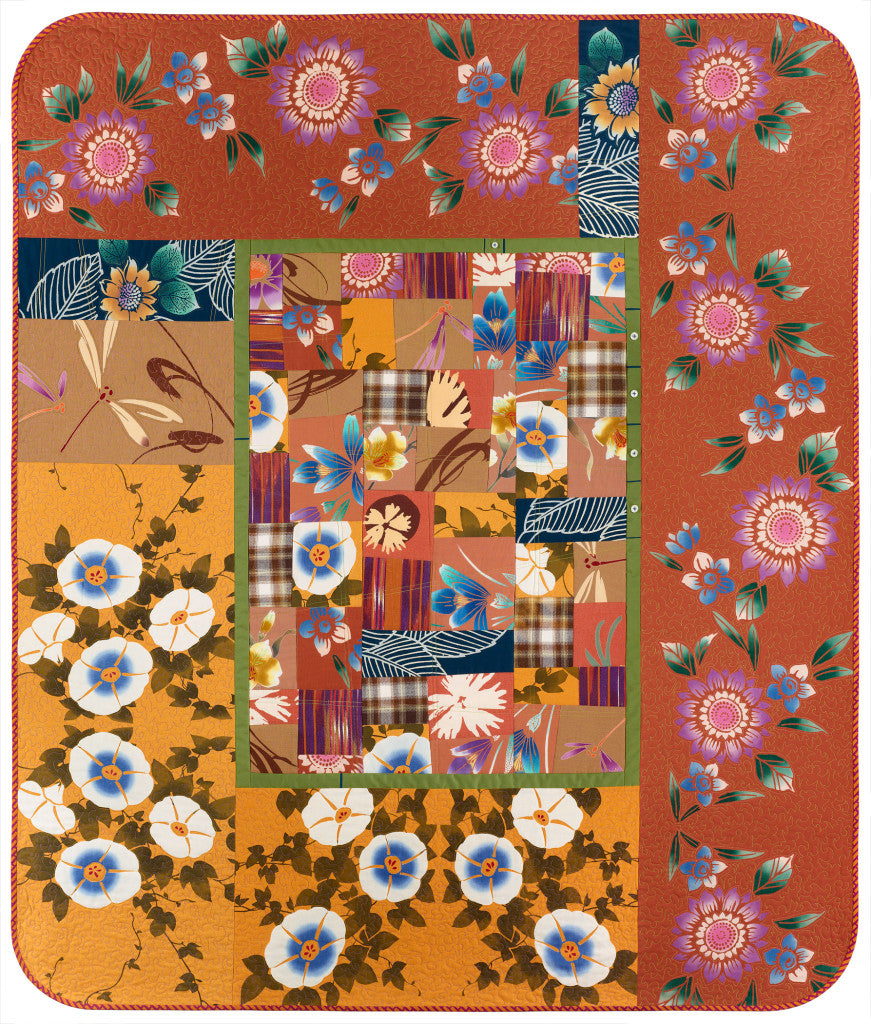 The Power of Love quilt by Patricia Belyea