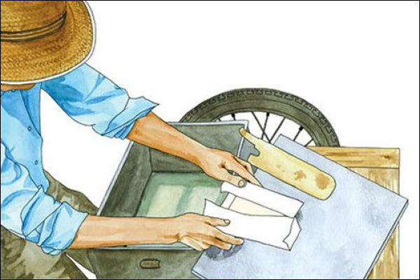 Tofu Maker illustration by Kate T Williamson