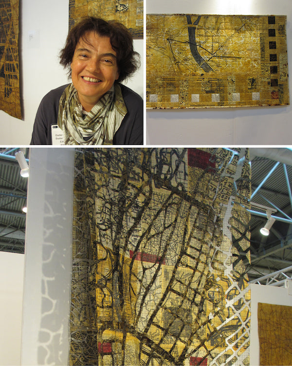 Eszter Bornemisza at The Festival of Quilts 2014