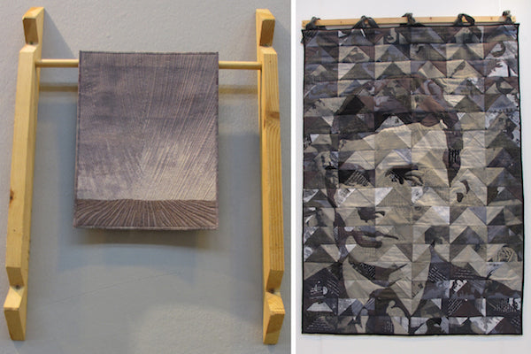 Miniature Winner and Two-Person Winner in The Festival of Quilts 2014