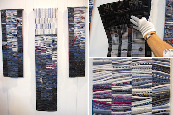 Eloquence and Integrity, quilt by Ruth Parker