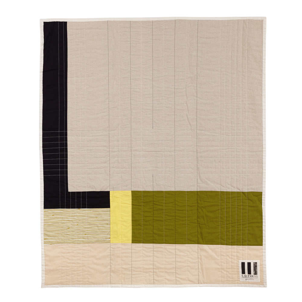 Back of Traffic, a quilt by Season Evans