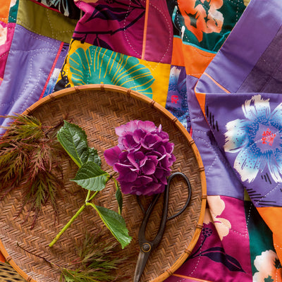 The Art of Flowers, a quilt by Patricia Belyea