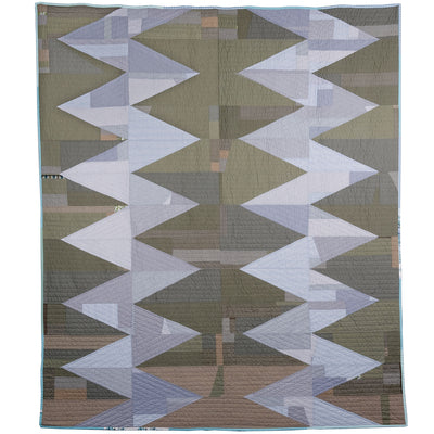 Thundersnow, a quilt by Sarah Nishiura