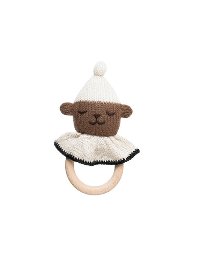 teddy teething ring