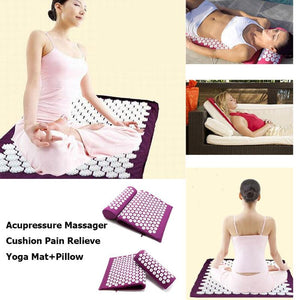 Yoga Acupressure Massage Mat