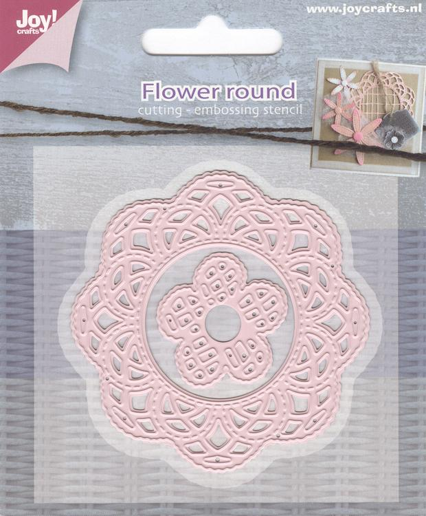 Joy Crafts Cutting Die - Flowers Round