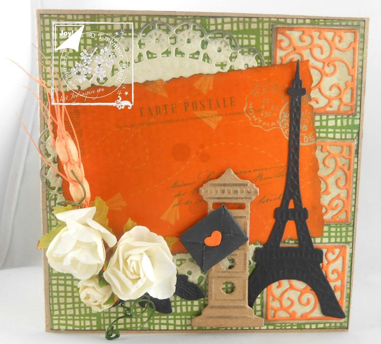 Joy Crafts Cut & Emboss Die - Little Happiness - Postbox