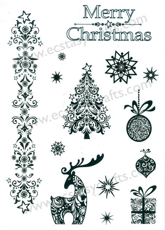 Merry Christmas Stamp Set