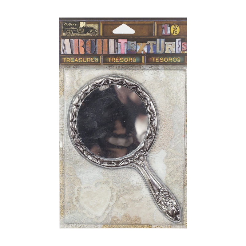 Architextures Treasures - Tarnished Silver Mirror