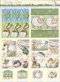 3D Precut - Twin Pack - Rabbits, Little Sheep and Nostalgic Easter