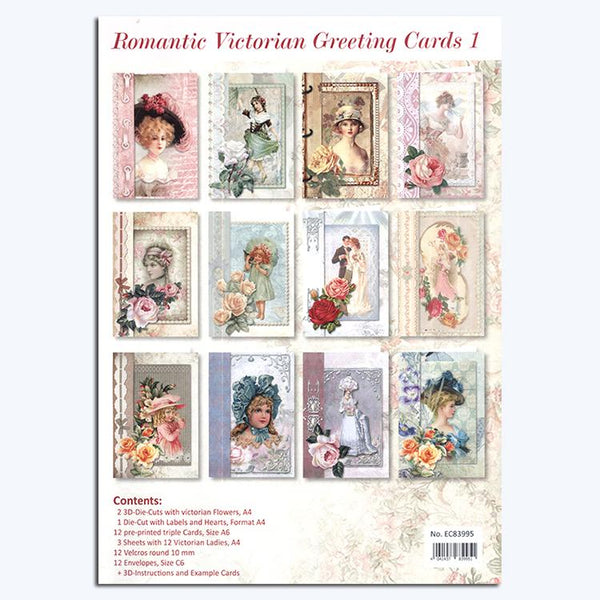 Romantic Victorian Cardmaking Kit 1