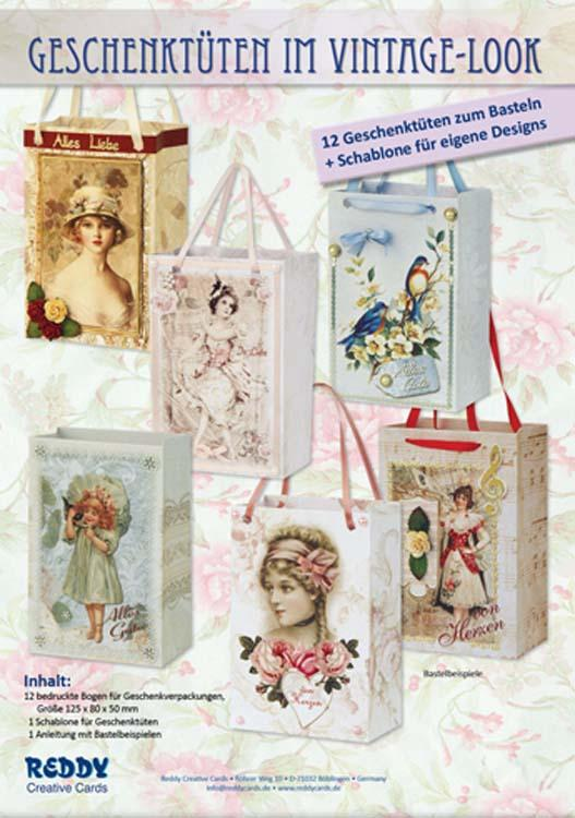 Vintage Gift Bag Making Kit