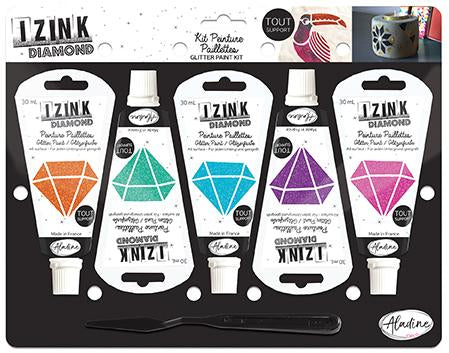 Set Of 5 IZINK Diamond - Stars - 30 ml