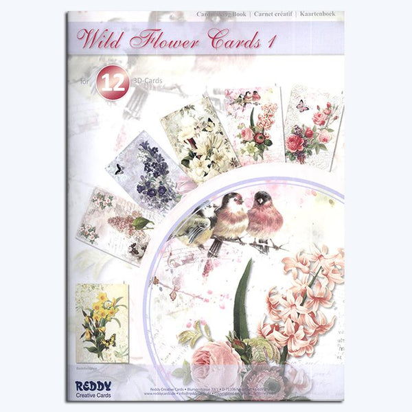 Vintage Flower Cardmaking Book 1