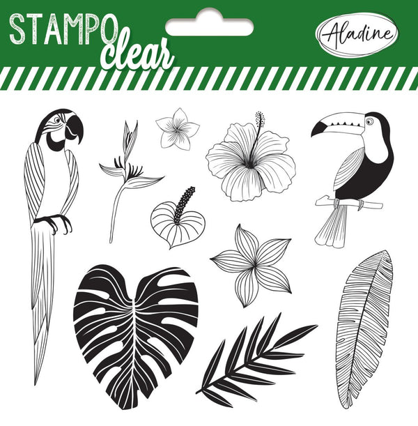 Stampo Jungle Clear Stamp
