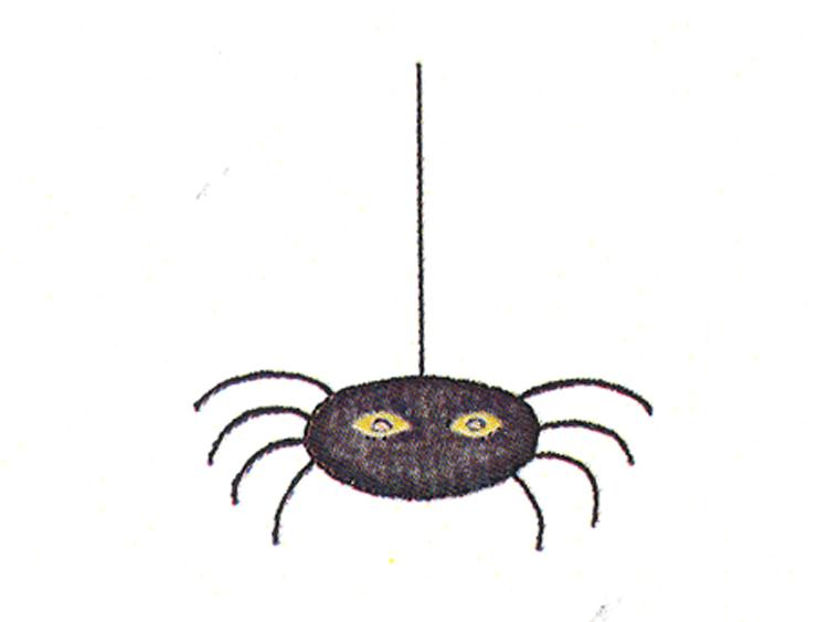 Frog's Whiskers Ink Stamp - Small Spider