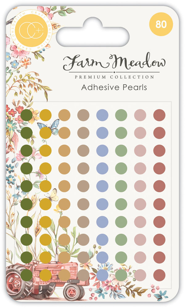 Farm Meadow - Adhesive Pearls