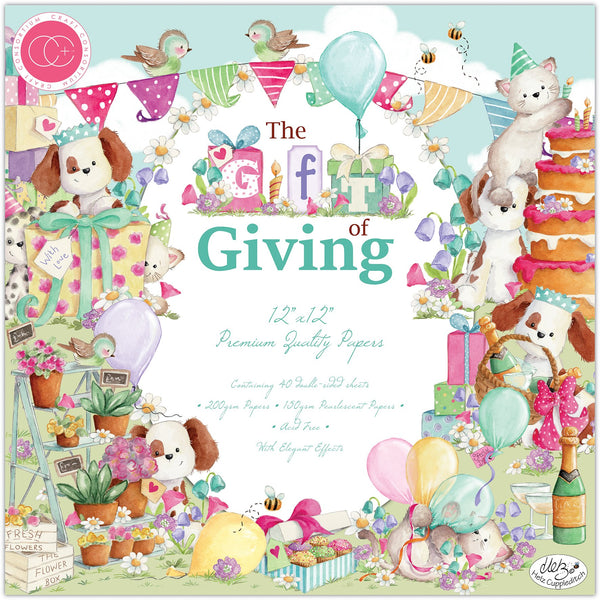 The Gift of Giving 12x12 Paper Pad