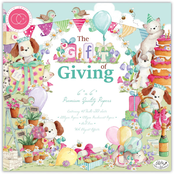 The Gift of Giving 6x6 Paper Pad