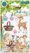 Bluebells and Buttercups - Stamp Set - Picnic