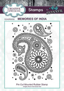 Andy Skinner Memories of India Rubber Stamp