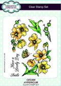Creative Expressions A5 Clear Stamp Set Hypericum