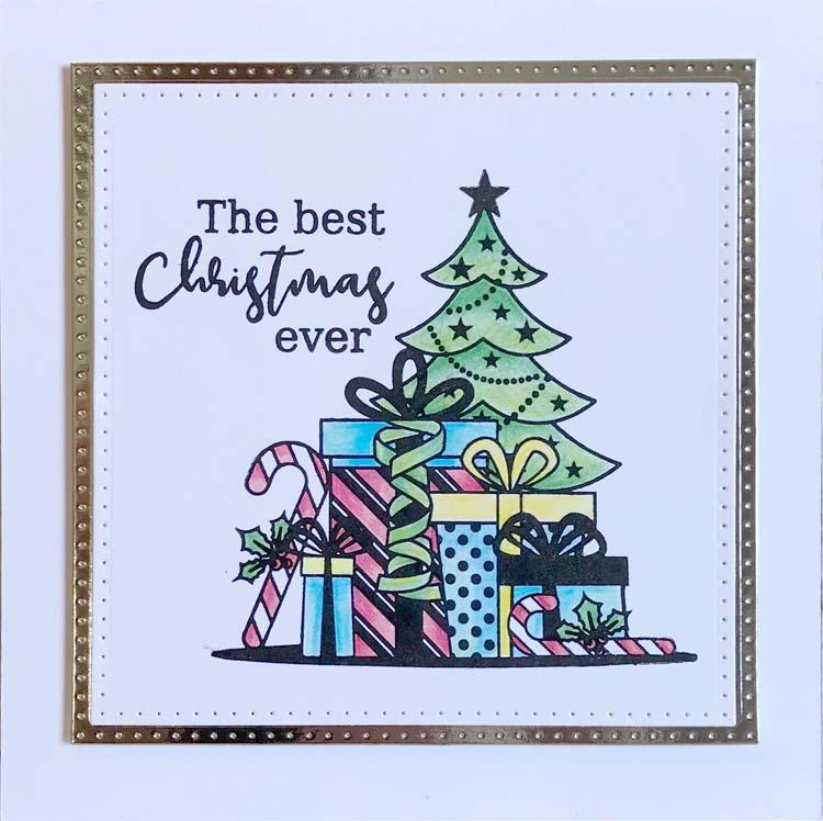 The Best Christmas Ever A5 Clear Stamp Set