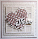 Dies by Sue Wilson Filigree Artistry Collection Woven Heart