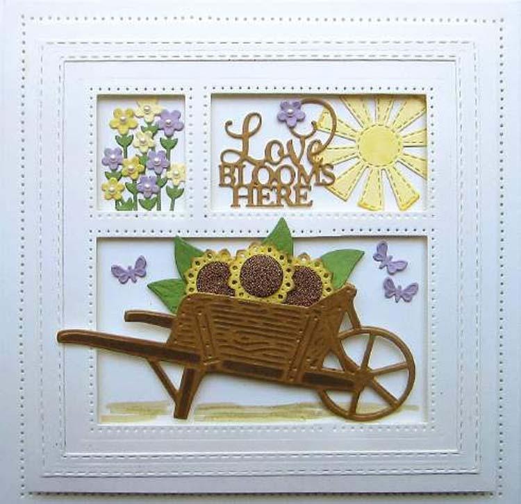 Necessities Collection Wooden Garden Cart Die