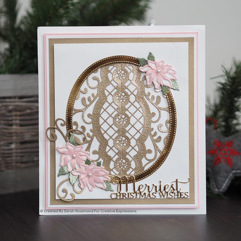 Dies by Sue Wilson Festive Endless Options Bauble Background