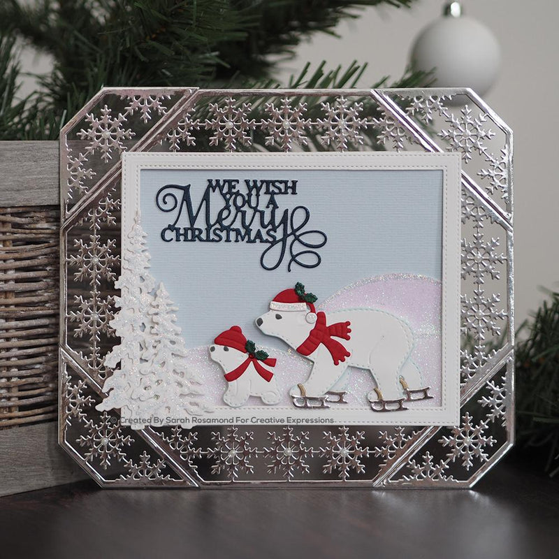 Dies by Sue Wilson Festive Snowflake Adjustable Frame