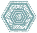 Noble Collection Lavish Accented Hexagons Die