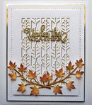 Background Collection Linear Leaf Die