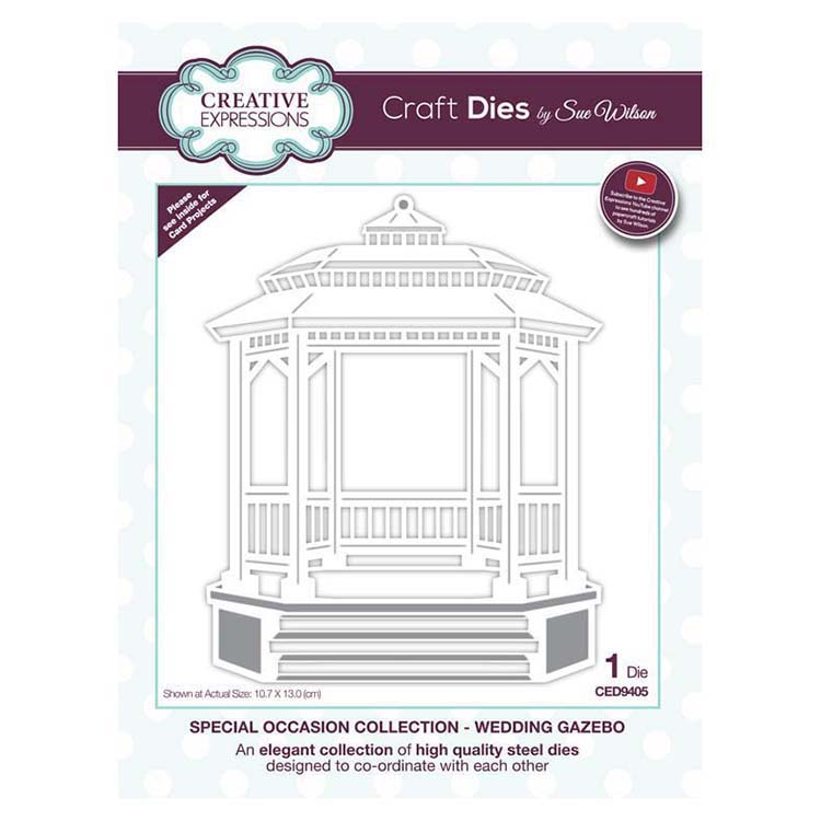 Dies by Sue Wilson Special Occasions Collection Wedding Gazebo