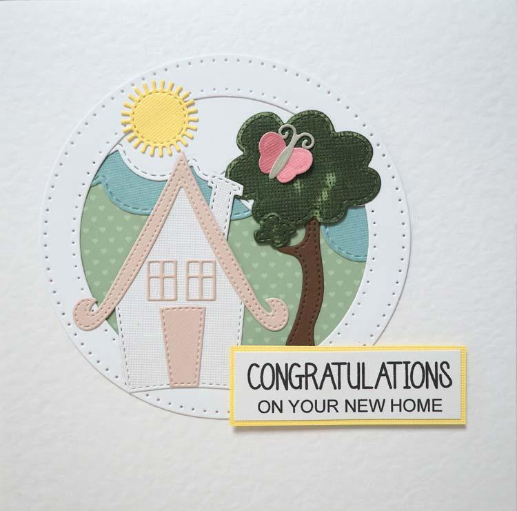 Creative Expressions Stitched Collection Quirky House Craft Die